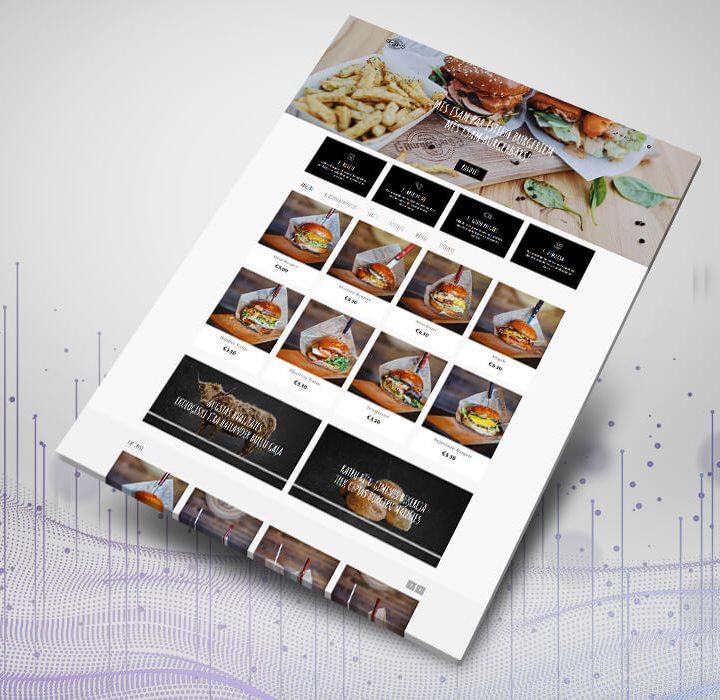 BurgerBārs interneta veikala izstrāde